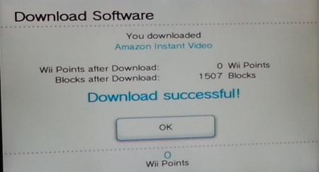 amazon dl successful How to install the Amazon Instant app on your Nintendo Wii and Wii U