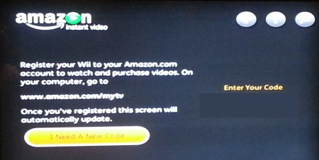 amazon wii code How to install the Amazon Instant app on your Nintendo Wii and Wii U