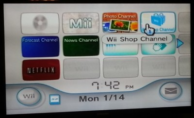 wii menu 400x243 How to install the Amazon Instant app on your Nintendo Wii and Wii U